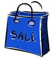 Sale bag icon vector image vector image