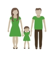 Family Eco Concept vector image