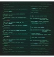 software engineering background vector image