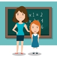 student school teacher icon vector image