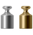 Calibration weight vector image