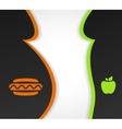 Health food vector image vector image
