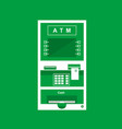 atm cash machine vector image