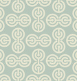 Abstract circles pattern Geometric ornament Retro vector image