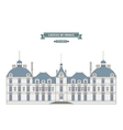 Cheverny France vector image