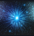 abstract space background explosion vector image