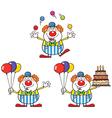 Cartoon clown design vector image vector image