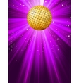 Party lights background Vector Image