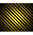 Grunge Black and Orange Surface vector image
