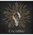 Hand drawn sketch - creative vector image
