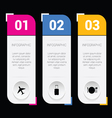 infographic set idea in colorful vector image