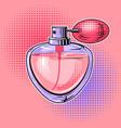 woman perfume pop art vector image