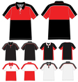 polo t shirt design vector image