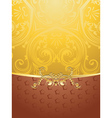 Brown Decorative Background2 vector image
