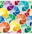 seamless vivid swirl pattern vector image