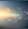 abstract sky bokeh background eps 10 vector image