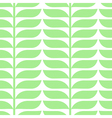 pattern with geometric leaves vector image