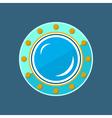 Round Ship Porthole vector image