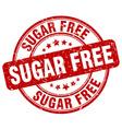 sugar free stamp vector image