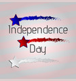 happy 4th of july american independence day vector image