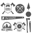 Set of badge labels or emblem elements for vector image