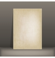 grunge paper card vector image