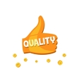 Super Quality Label vector image