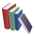 set of various books vector image