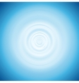 Wave from water drop vector image