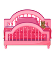 Childs bed vector image