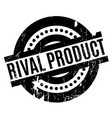 rival product rubber stamp vector image