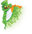 Irish cartoon vector image