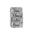 hand brush lettering happy new year on turkish vector image