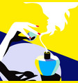 new fragrance vector image