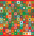 seamless pattern with squares vector image