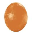 Colorful Polygonal Egg2 vector image vector image