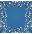 Background with abstract pattern vector image