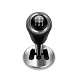 car transmission isolated vector image