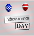 4th of july background classic postcard usa vector image