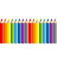 school pencils vector image vector image