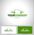 Electric Car Concept Logo vector image