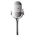 Old Mic vector image