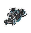 hot rod vector image