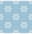 Seamless pattern with helm of ship vector image