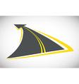 Road design vector image