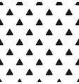 Geometric seamless pattern of grunge black vector image
