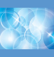 blue blur abstract background vector image vector image