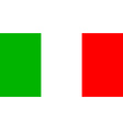 flag of Italia vector image vector image