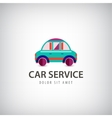 car service logo icon isolated Identity vector image