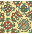 4 Seamless Tile Patterns vector image vector image